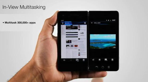 SmartPad - Un smartphone qui se transforme en tablette