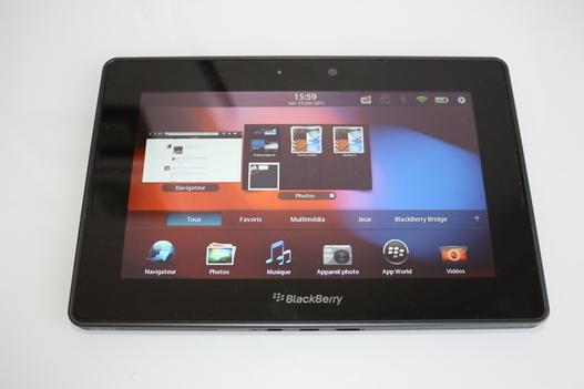 Playbook - Test du Blackberry Bridge en vidéo