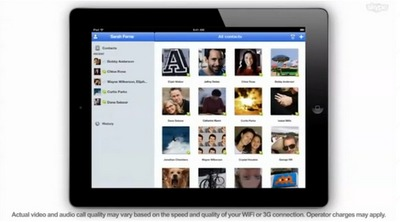 Skype pour iPad - Coming soon !