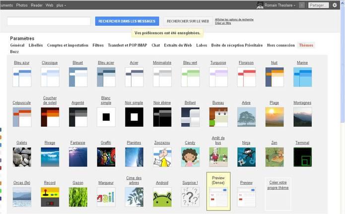 Comment peut-on avoir la nouvelle interface Gmail ?