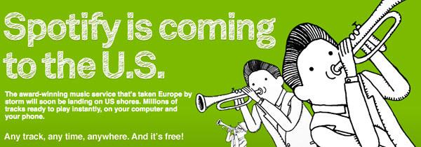 Spotify va débarquer aux Etats-Unis