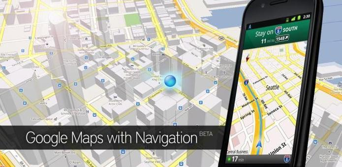 Android - L'application Google Maps a été revue