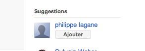 Quand Google + me suggère de m'ajouter moi même comme ami