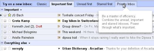 Gmail - De nouvelles options pour la priorité des mails arrivent