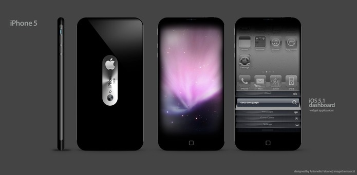 Dommage que cet iPhone 5 ne soit qu'un concept
