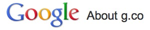 g.co - L'URL raccourcie privée de Google