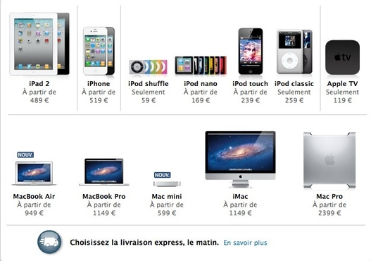Apple se sépare du Macbook..