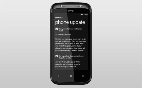 Des mises à jour hardware disponible pour certains Windows Phone