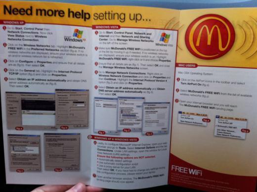 McDonald's fait de la publicité pour Apple