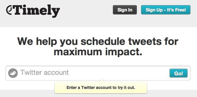 Tweetez toujours à la bonne heure
