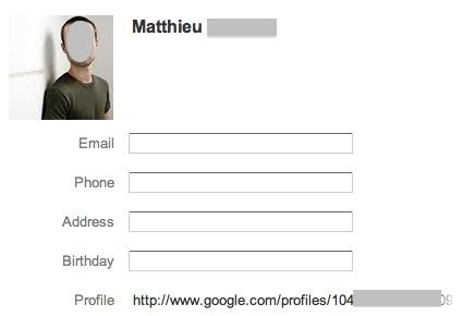 Google ajoute vos contacts Google + dans vos contacts Gmail automatiquement