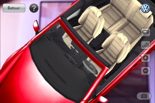 (sponso) Choisissez votre nouvelle Golf Cabriolet sur votre smartphone grâce à la réalité augmentée