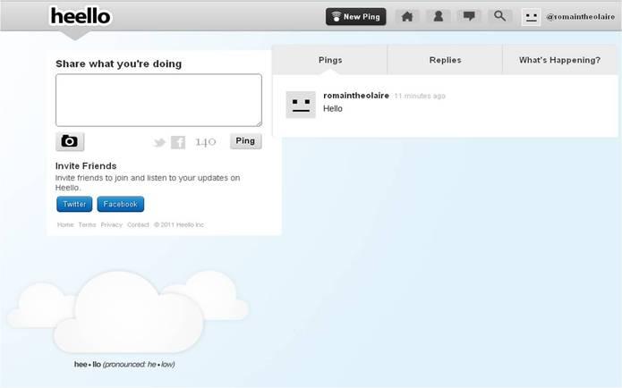 Les créateurs de Twitpic lance Heello, un concurrent de Twitter