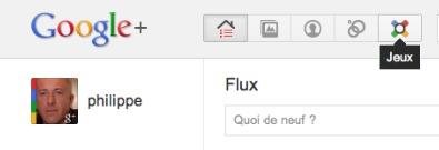 Un nouveau bouton sur Google + a fait son apparition - Les jeux