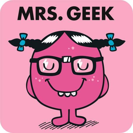 Geekette, un jour tu vaincras.