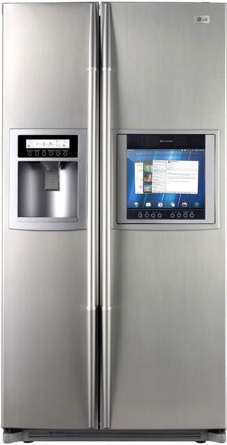 Pourquoi pas un frigo sous webOS annoncé au CES 2012?