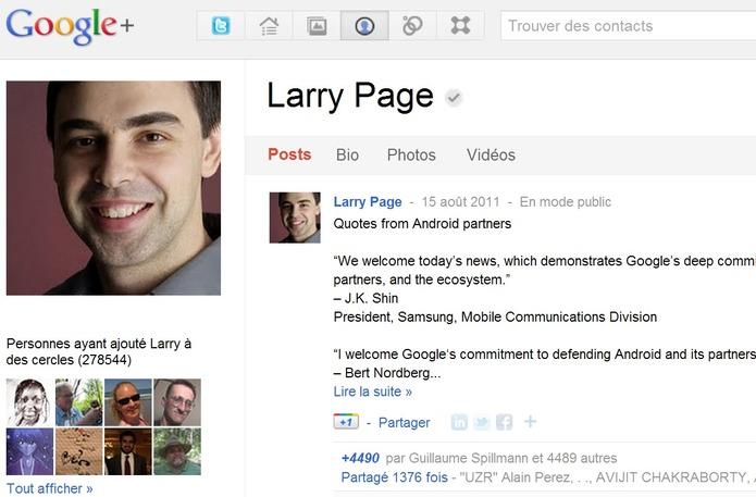 Google Plus lance les comptes vérifiés