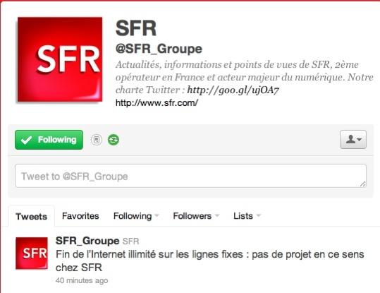 Internet limité - Orange et SFR démentent à leur tour