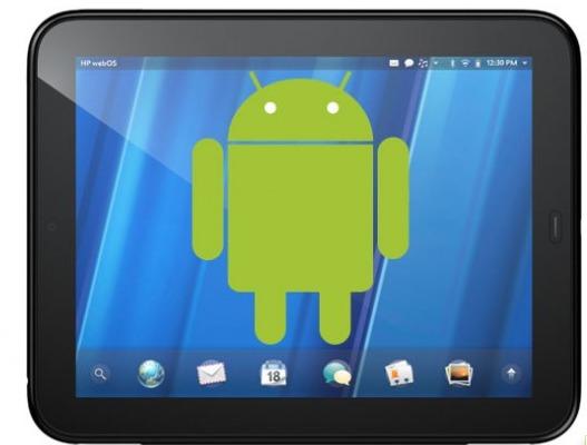 Android tourne déjà sur la HP Touchpad !!!