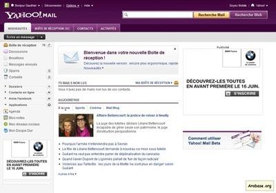 La nouvelle version de Yahoo Mail atteint 100 millions d'utilisateurs par mois