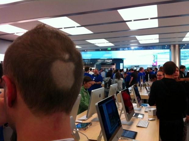 L'Apple Store de Carré Sénart a ouvert ses portes... (vidéo)