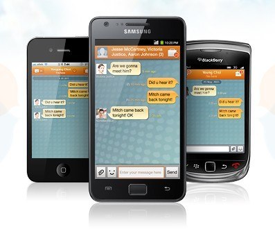 ChatON - Un service de messagerie instantanée multi-plateformes réservé pour Samsung