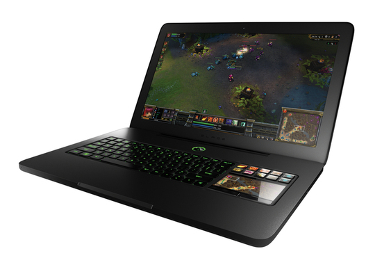 razer blade le premier pc portable pour gamers de la marque. Black Bedroom Furniture Sets. Home Design Ideas
