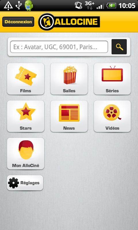 Application Allociné - Les séries débarquent sur Android