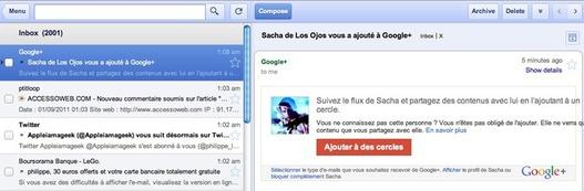 Gmail disponible hors connexion sur Google Chrome