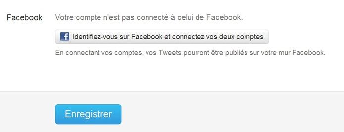 Twitter propose désormais de partager vos tweets sur facebook