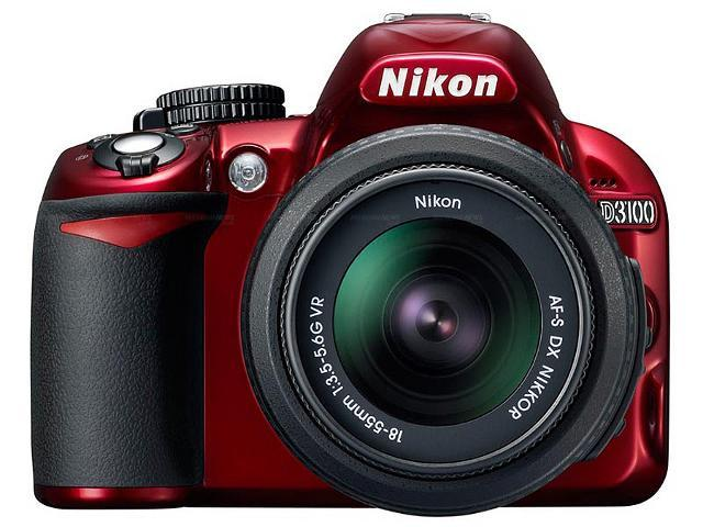 Nikon voit rouge pour son D3100 au Japon
