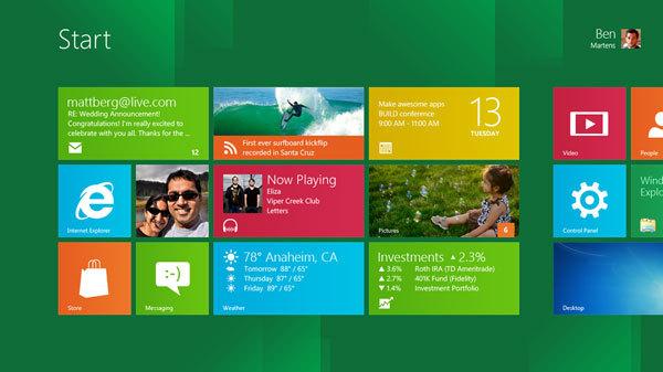 Windows 8 Preview pour les développeurs