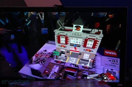 IDF 2011 - Lego se donne dans la réalité augmentée
