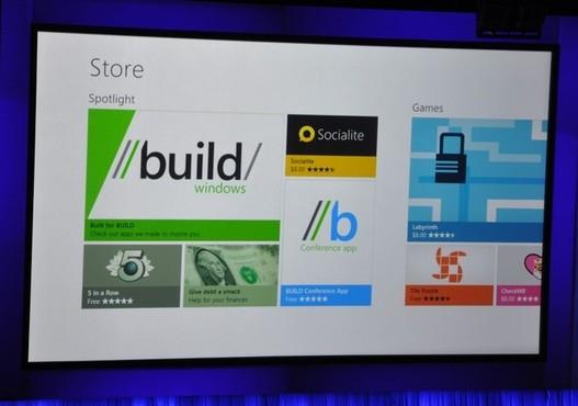 Microsoft Windows 8 - Officialisation du Windows Store et téléphonie