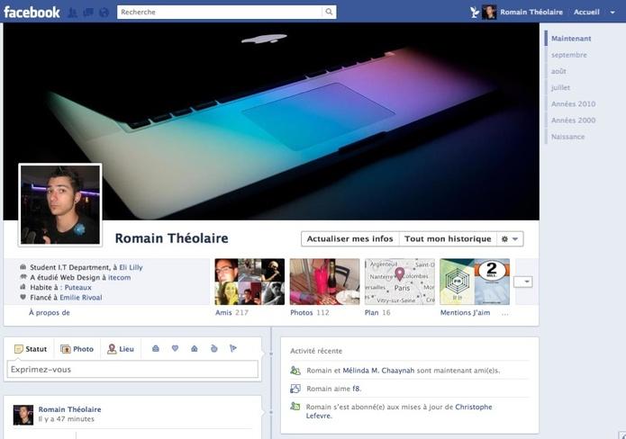Comment activer Facebook Timeline maintenant ?