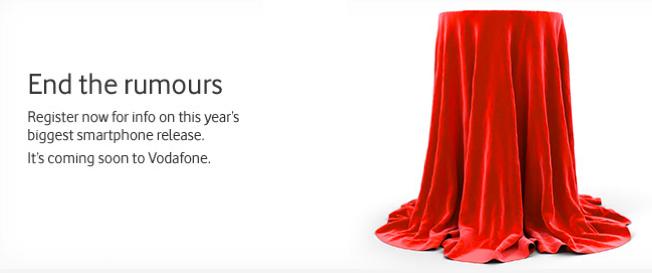 iPhone 5 - Vodafone fait du teasing avec la sortie du smartphone de l'année