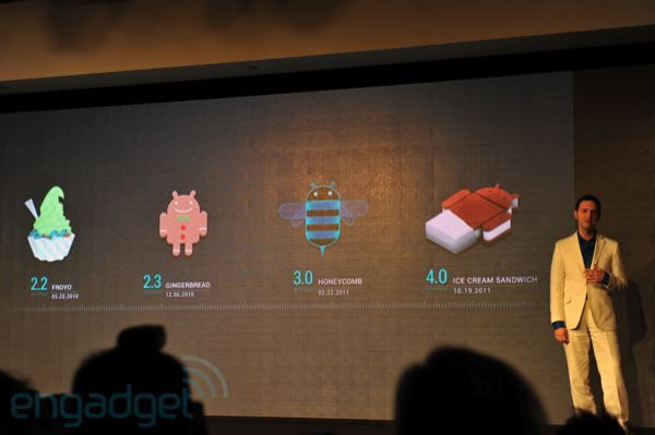Google lance Android 4.0 Ice Cream Sandwich