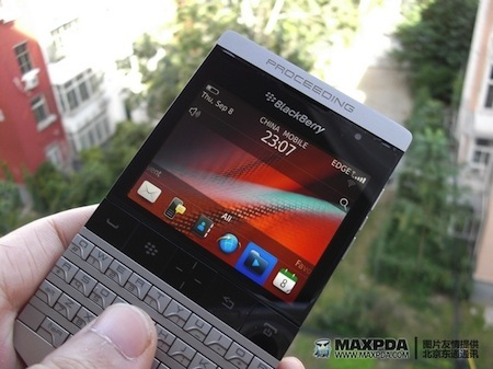 Blackberry Porsche pour le 27 Octobre ?