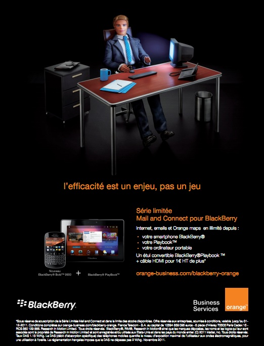 Orange Business lance sa nouvelle offre série limitée pour Blackberry