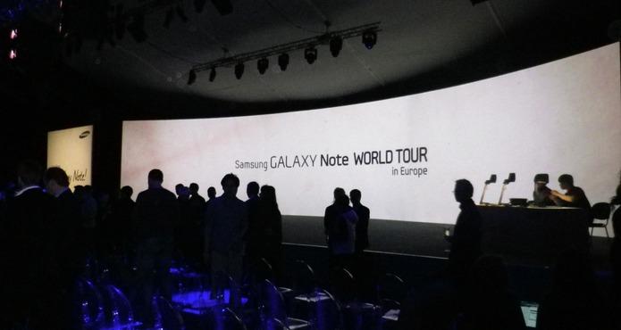 Présentation du Galaxy Note et Galaxy Nexus à Londres (vidéo)