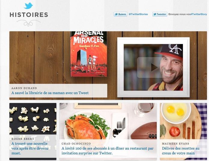 Twitter Stories - Quand une histoire commence par un Tweet