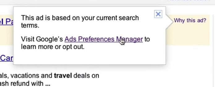Google - Le blocage des pub bientôt possible dans Gmail et le moteur de recherche