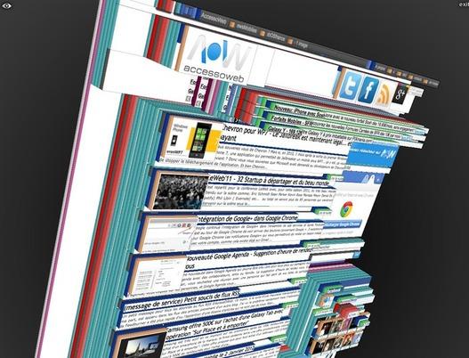 Tilt 3D pour voir le Web en 3 dimensions