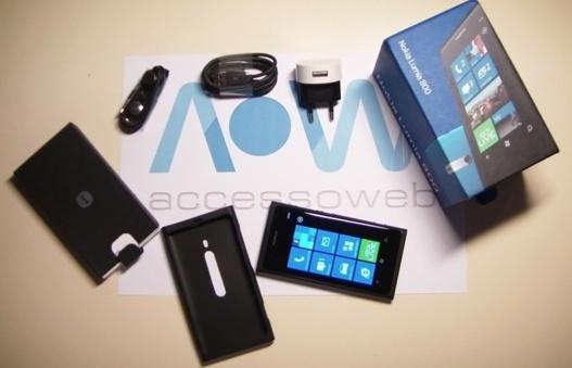 Le Lumia 800 de Nokia est arrivé à la rédaction