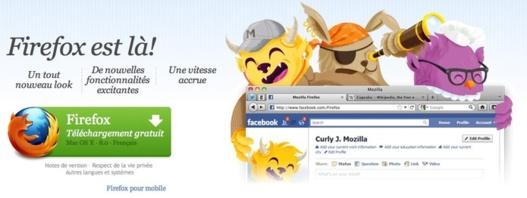 Télécharger Firefox 8