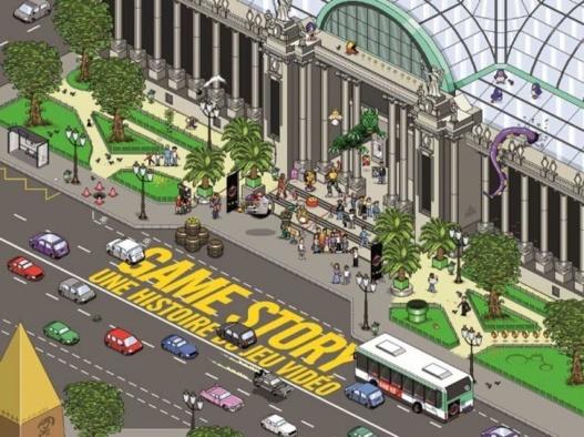 Exposition Game Story au Grand Palais à Paris