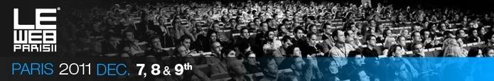 LeWeb'11 - Les 16 Start-Up finalistes