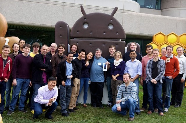 Quand Steve Wozniak veut un Galaxy Nexus