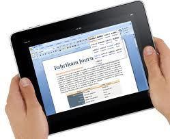 La suite Microsoft Office bientôt sur iPad ?
