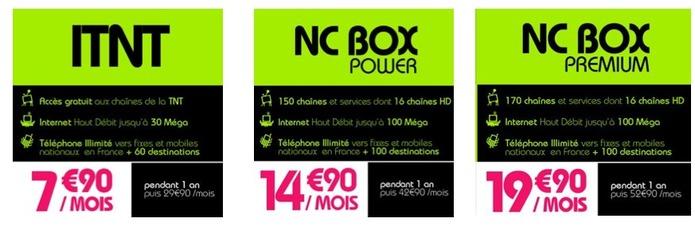 Numericable - La fibre à partir de 7,90 €